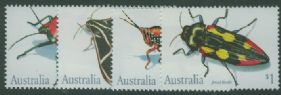 AUS SG1287-90 Insects set of 4